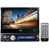 "PYLE PLRNV71 7"""" Single-DIN In-Dash Navigation Mechless TFT/LCD Motorized Touchscreen Receiver with GPS & Bluetooth(R)"
