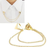 Brooches Fashion Stud Blouse Shirts Collar Clip Tip