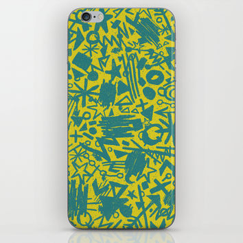 Synapses iPhone & iPod Skin by Nick Nelson | Society6