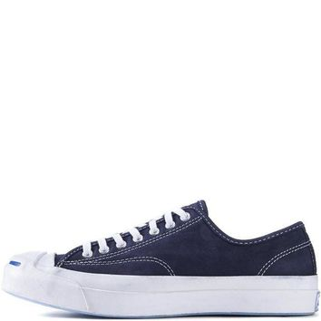CREYUG7 Converse for Men Jack Purcell Signature Nubuck Inked Sneakers
