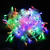 LumiParty 10M 100 LED Christmas Led String AC220V Holiday String Lights for Christmas Party Fairy Waterproof Xmas LED String