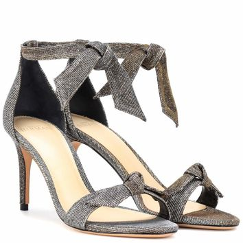 Clarita 75 metallic sandals