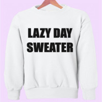Lazy Day Crewneck