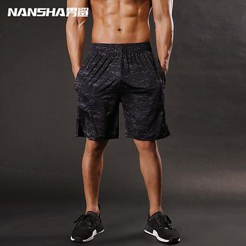 Nansha Brand Men shorts High Quality Mens Bodybuilding Fitness Shorts Gyms Aesthetics BasketballRunning Workout Jogger Shorts