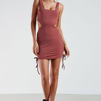 Xenia Dress - Mauve
