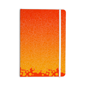 "Frederic Levy-Hadida ""Bubbling Red"" Everything Notebook"