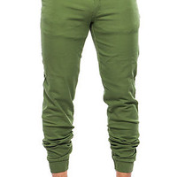 The Presley Jogger in Olive