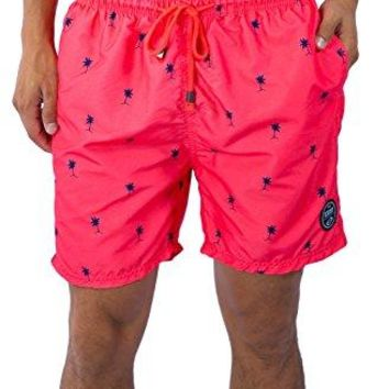 Exist Palm Tree Quick Dry Beach Shorts