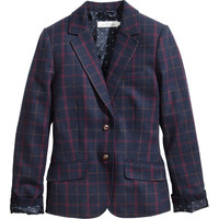 H&M - Jacket in Wool Blend - Dark