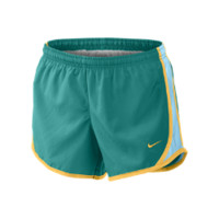 "Nike 3.5"" Tempo Girls' Running Shorts - Turbo Green"