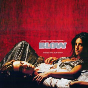 Blow 27x40 Movie Poster (2001)