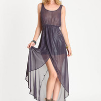 Illumination Sheer Maxi Dress - $45.00 : ThreadSence.com, Your Spot For Indie Clothing  Indie Urban Culture