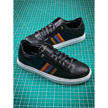 Paul Smith Black Leather Shoes