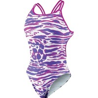 Nike Women's Cheebra Spider Back Tank Swimsuit - Dick's Sporting Goods
