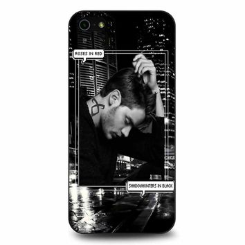 Alec Lightwood Shadowhunters In Black iPhone 5/5s/SE Case