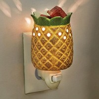 Pineapple Shaped Plug-In Wax Melter Night Light