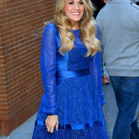Arriving At/Leaving The View - 27/10/2014 - 42-635691361 - Carrie-Photos.com    Biggest Carrie Underwood Photo Gallery