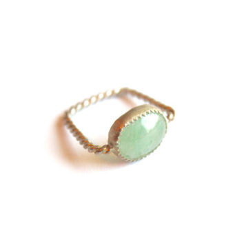 Rope Ring- Gemstone-Mothers Day