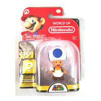 Blue Toad World of Nintendo Series 1-2 Figure
