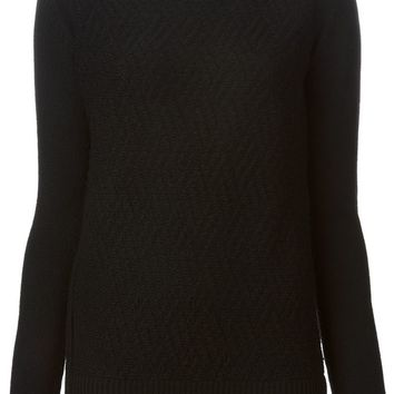 Barbara Bui zipped sides turtle neck sweater
