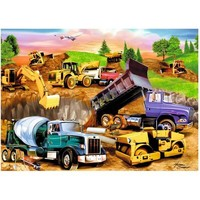 Ravensburger Construction Crowd Jigsaw Puzzle - Puzzle Haven