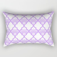 Lavender bloom Rectangular Pillow by Heaven7