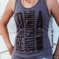 I'd Rather Be Shotgunning A Beer | Women's Tank Top