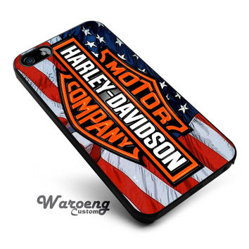 Harley Davidson USA iPhone 4s iphone 5 iphone 5s iphone 6 case, Samsung s3 samsung s4 samsung s5 note 3 note 4 case, iPod 4 5 Case