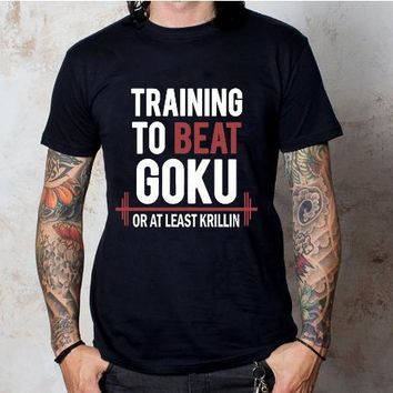 The Dragon Ball Z T Shirt To Beat Goku