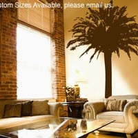 Wall Vinyl Decal Sticker Palm Tree #MMartin145