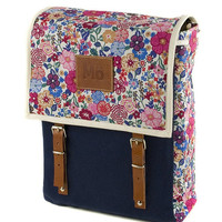 Poppy Globby Print Backpack