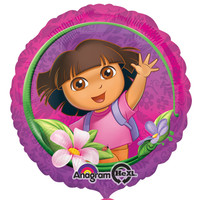 Dora's Flower Adventure Foil Balloon