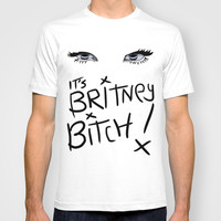 Britney Spears Eyes T-shirt by Alli Vanes
