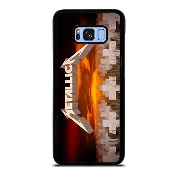 METALLICA MASTER OF PUPPETS Samsung Galaxy S8 Plus Case Cover