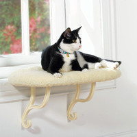 K&H Pet Products Kitty Sill Window Perch - Unheated - Window Perches - Beds & Throws - PetSmart