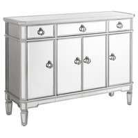 Merriweather Mirrored Buffet - Silver