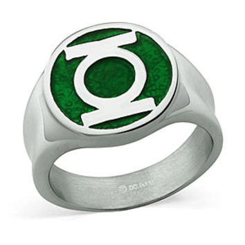 Green Lantern Insignia Ring