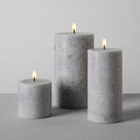 "Pillar Candle (4""x7"") - Cardamom & Vetiver - Hearth & Hand™ with Magnolia"