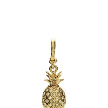 Gold Pave Pineapple Mini Charm by Juicy Couture, O/S