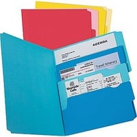 Pendaflex Divide-It-Up™ File Folder, Letter Size, Assorted, 24\/Pack | Staples®