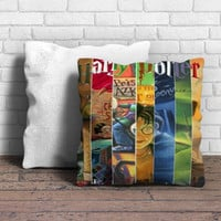 All 7 Books Harry Potter Pillow | Aneend