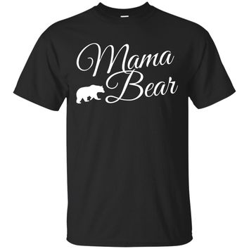 Womens Mama Bear Shirt Momma Bear Shirts