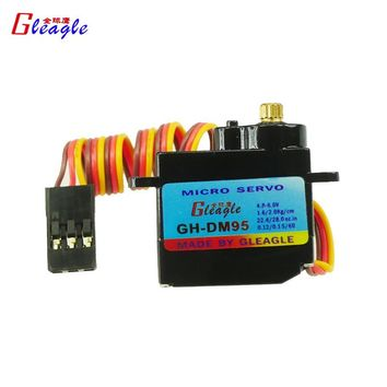 Global Eagle 3pcs/lot GH-DM95 ES08MA Swash plate Mini Micro Digital Servo for 480 helicopter