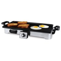 Oster Electric Griddle with Removable Plate (Grey)