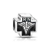 Bling Jewelry Nurse Cross Charm