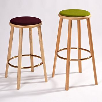 Deb Counter Stool - Upholstered | GFURN