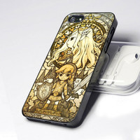 the legend of zelda the wind waker 2 IS0041 - Design - iPhone 4 / 4S / 5 - Black / White / Clear