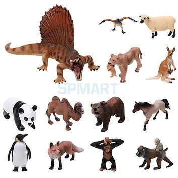 Realistic Wild/Zoo/Farm Animal Model Action Figure Kids Toy Collectibles