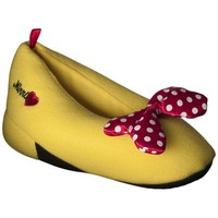 Girl's Disney® Minnie Mouse Slipper - Yellow