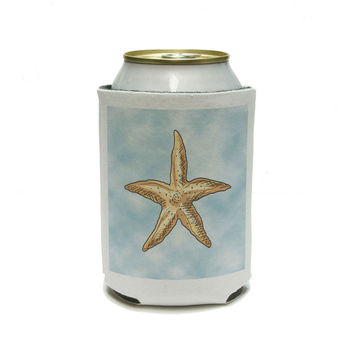 Starfish Ocean Sea Creature Beach Can Cooler Drink Insulator Beverage Insulated Holder